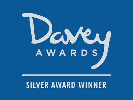 MOS and NW IMPACT Awarded Silver Davey Award