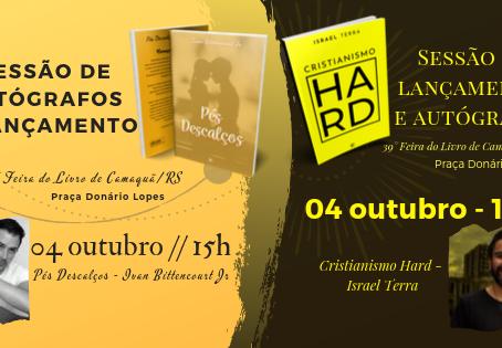 Escritores da Doze 2 lançarão livros na 39° Feira do Livro de Camaquã/RS