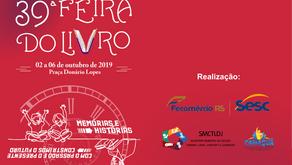 Ivan Bittencourt Jr participará da Feira do Livro de Camaquã/RS
