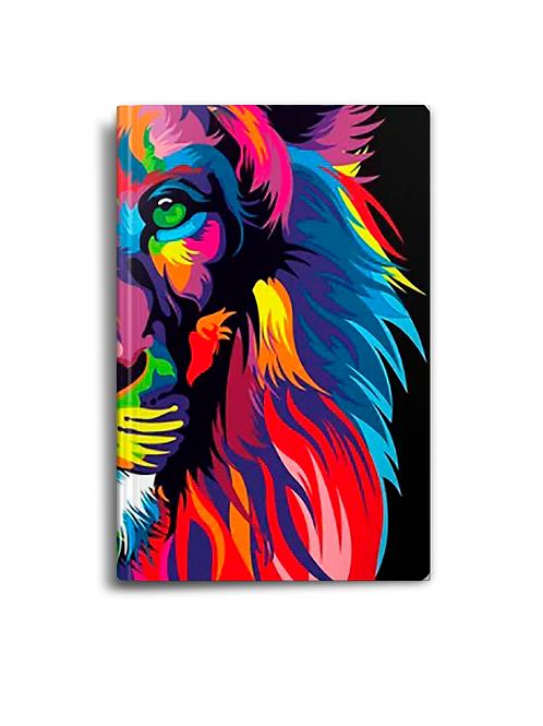 Bíblia Lion Color | NVT Letra Normal | Capa Dura (Leão Colorido)