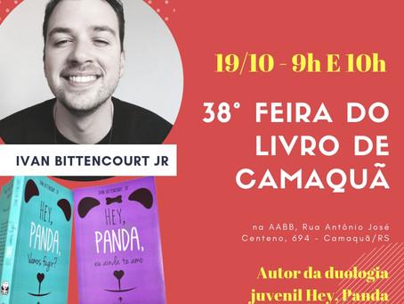 Ivan Bittencourt Jr participará das Feiras do Livro de Arroio dos Ratos e Camaquã