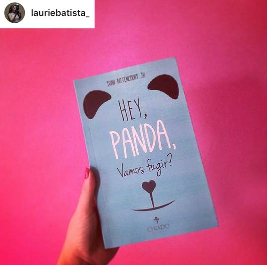 Hey, panda, vamos fugir - Ivan Bittencourt Jr