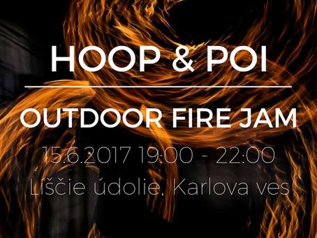 Fire Hoop Jam