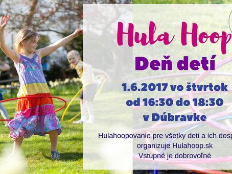 Hula Hoop deň detí
