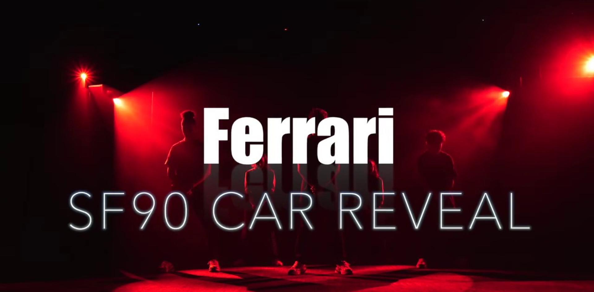 FERRARI SF90 CAR REVEAL