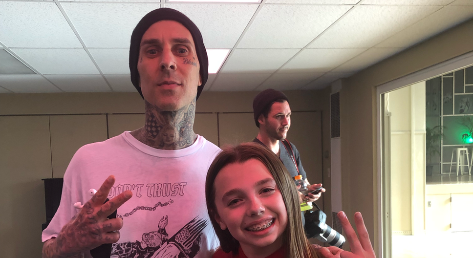Blink-182 Darkside Official Music Video Travis Barker