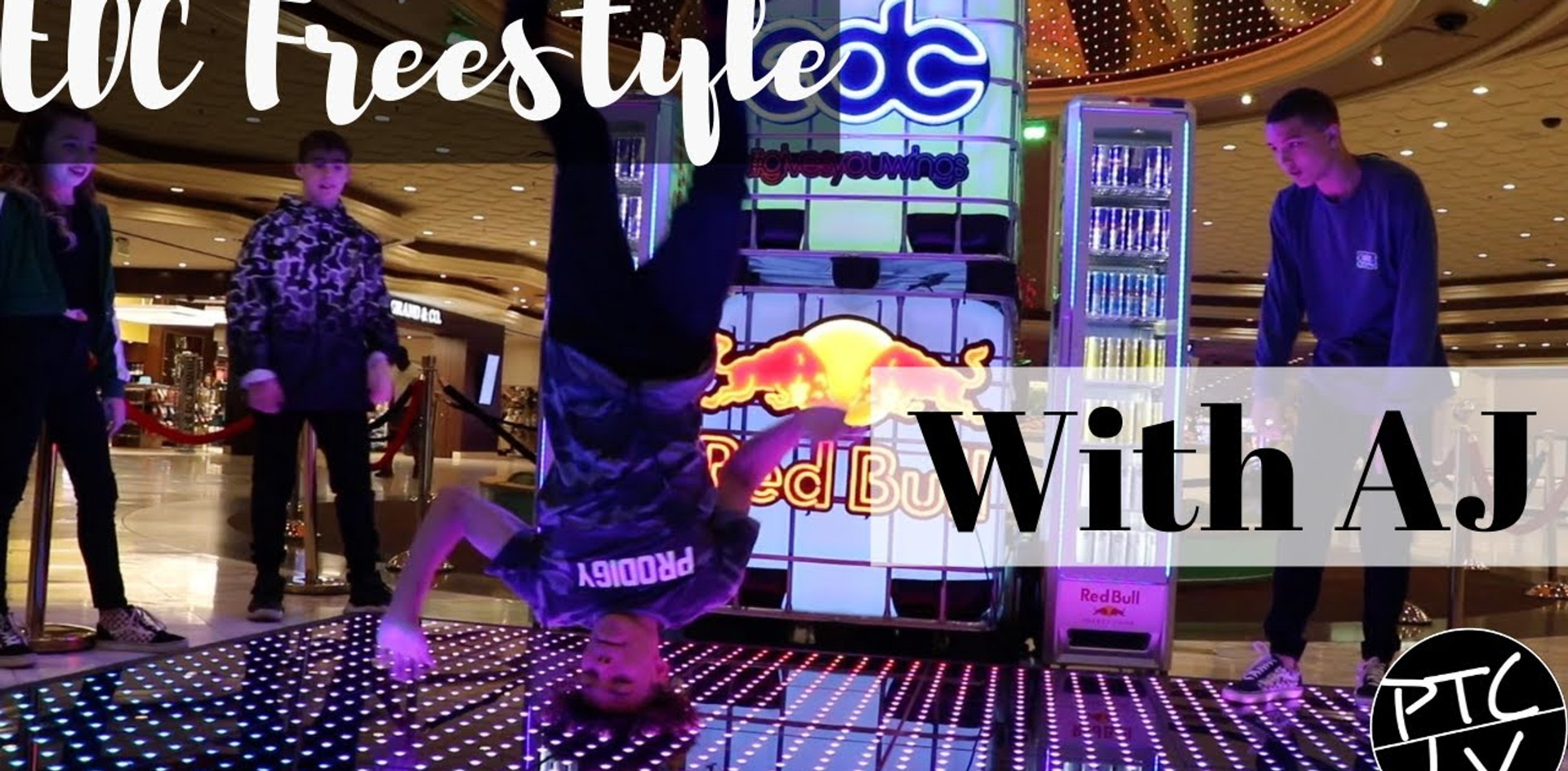 AJ Freestyles at EDC Red Bull Event