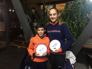 Jorge Agulló y María Villarejo finalistas en el torneo del Couder