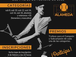 La Escuela de Tenis celebra un nuevo Torneo masculino y femenino en febrero