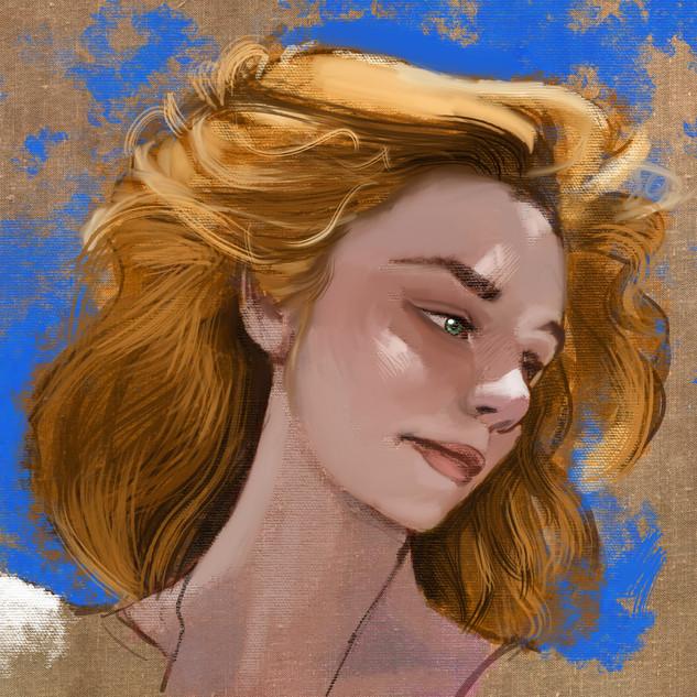 Portrait of Bellamiie