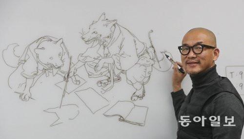 Artist Profile: Kim Jung Gi (Practice, Practice, Practice!)