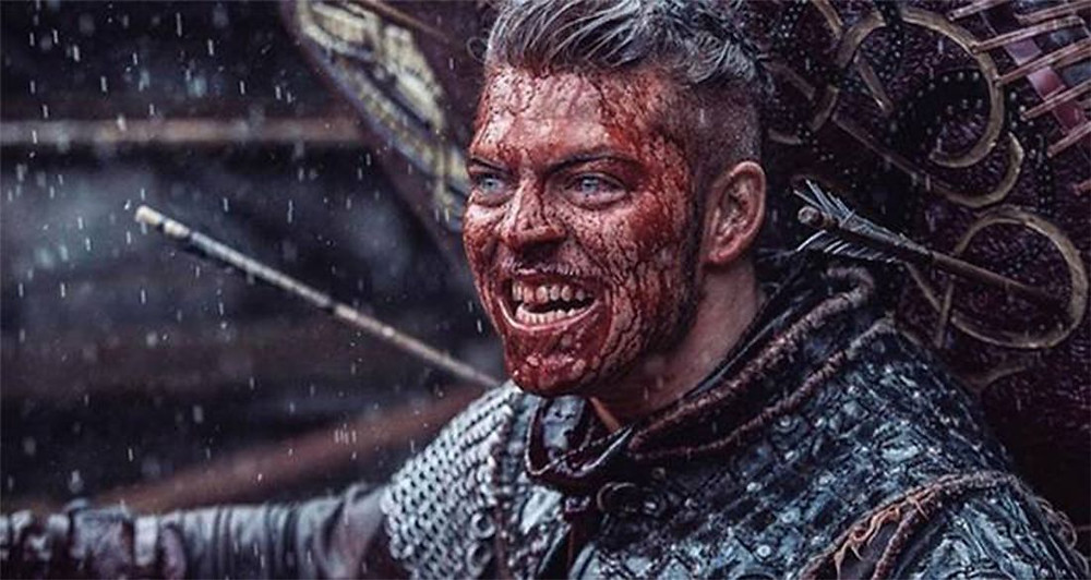 Ivar could probably use a bit more Jesus in his life.