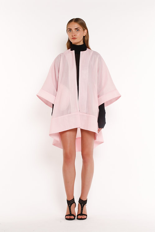 Pink Zip Up Coat