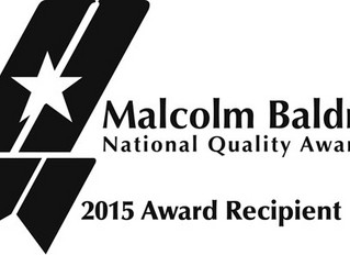 CAMC receives Baldrige Award
