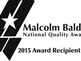 CAMC receives Baldrige Award