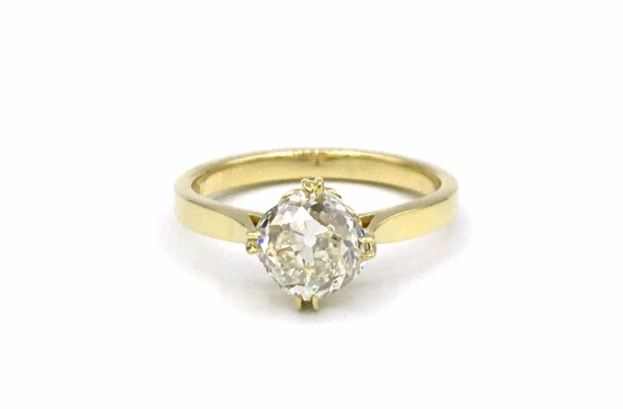 Custom Engagement Ring Alternative Bridal New York City
