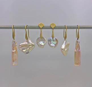 Pearl Earrings by Original Eve Designs