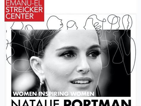 Natalie Portman at The Streicker Center