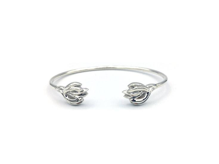 Terracing Peru Weave Cuff Bracelet in Sterling Silver