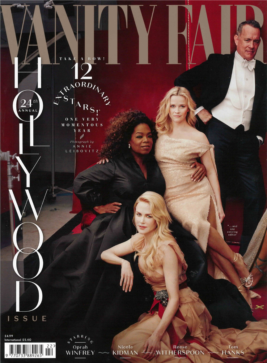 Vanity Fair Hollywood Cover March 2018