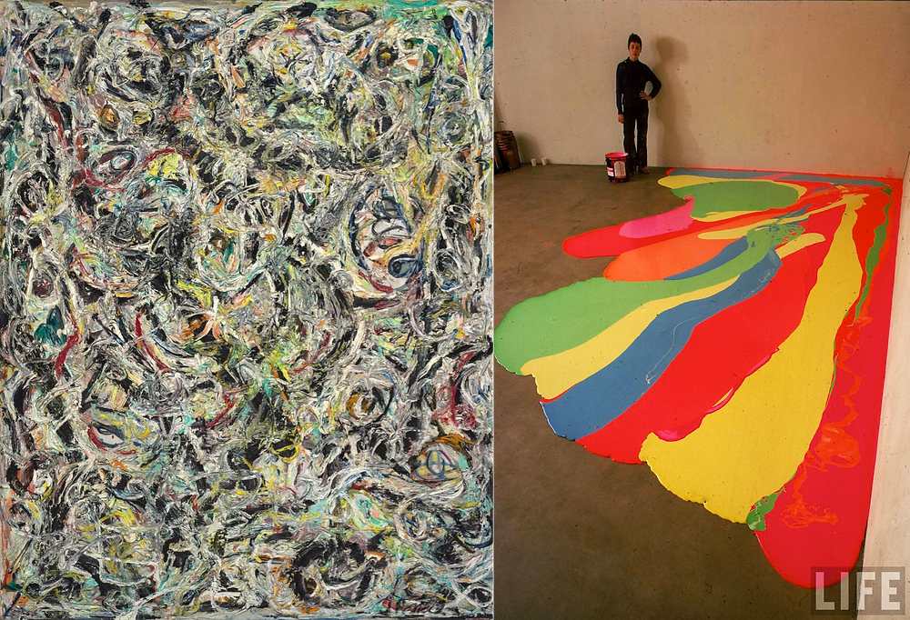 Jackson Pollock, Lynda Bengalis: Paint as expression