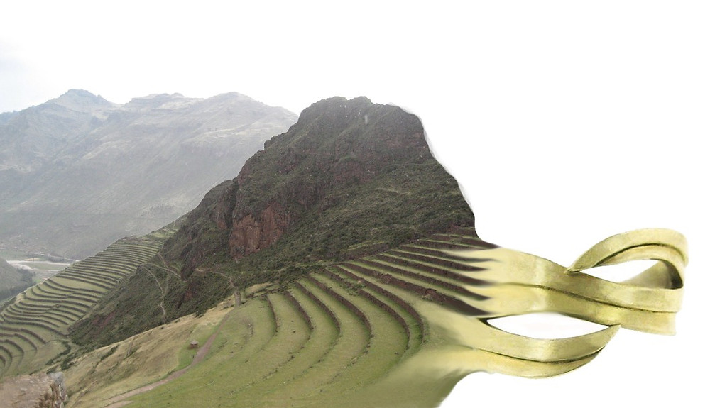 """Morphing Landscape """"Terracing Peru"""" Collection"""