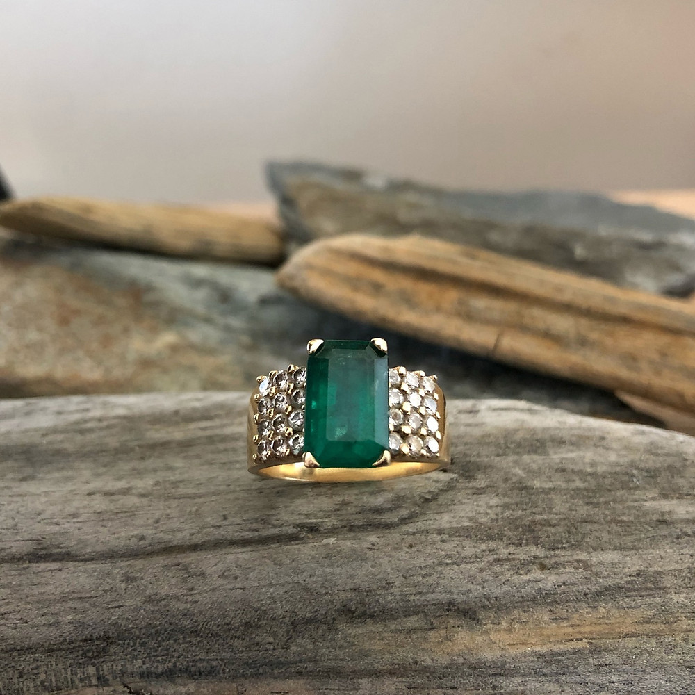 Original Emerald Ring