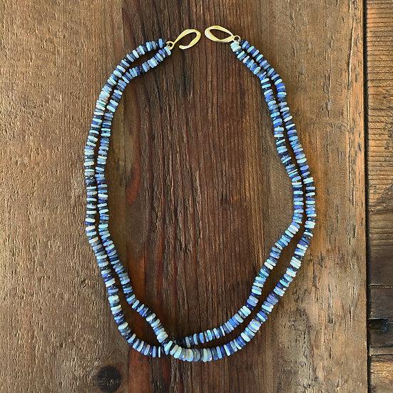 Double Australian Opal Candy Necklace
