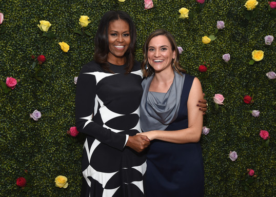 Original Eve Meets Michelle Obama