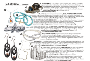 Just Add Glitter... Original Eve Designs Original Eve Jewelry Inclusion Glamour UK November 2017