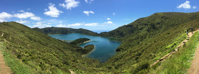 Azores Island Crater Lake Photo by Original Eve