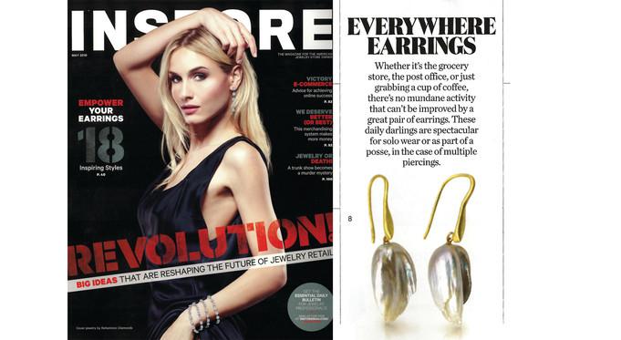 InStore Magazine: Everywhere Earrings