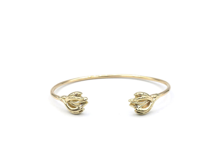 Terrace Weave Cuff Bracelet in 18k Yellow Gold