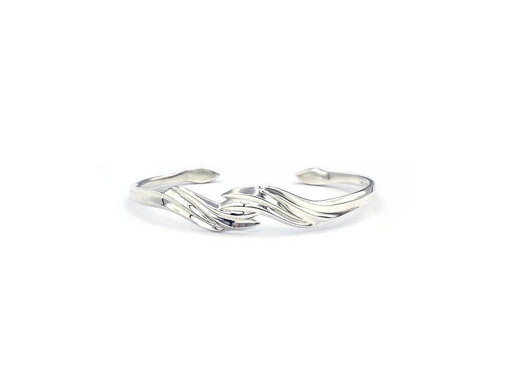 Terrace Flame Bracelet | Sterling Silver