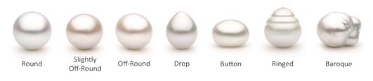 Pearl Shape Chart