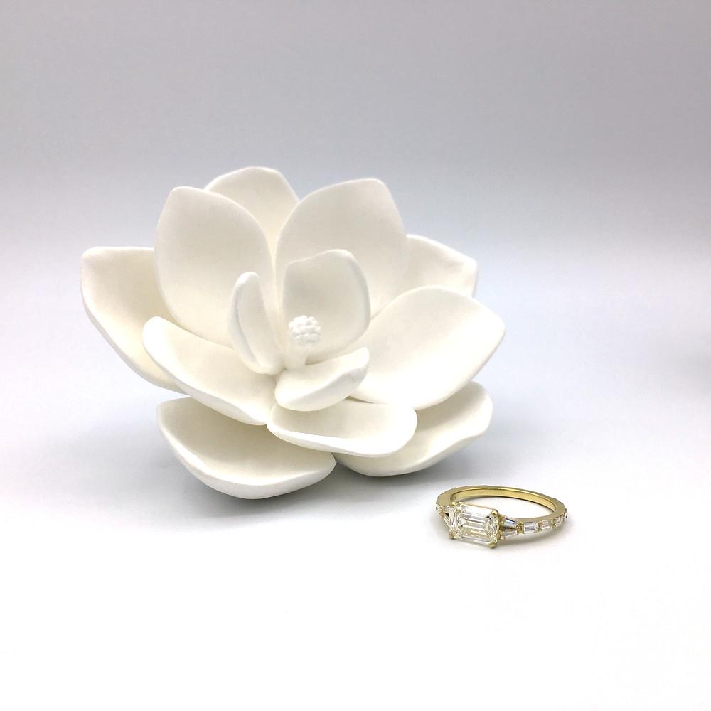 Custom Engagement Ring Design Original Eve Designs