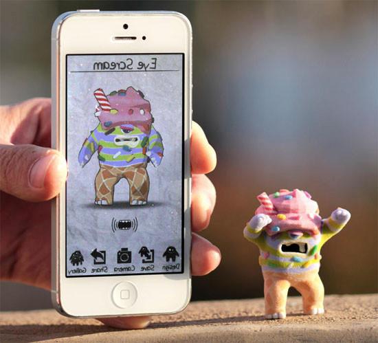 My Little Monster digital app
