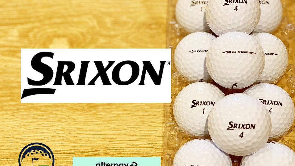 used srixon q star white discount golf ball