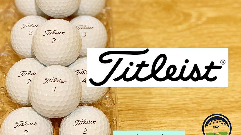Titleist AVX white discount golf balls