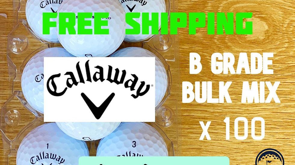 Callaway B Grade Value Mix Bulk x 100