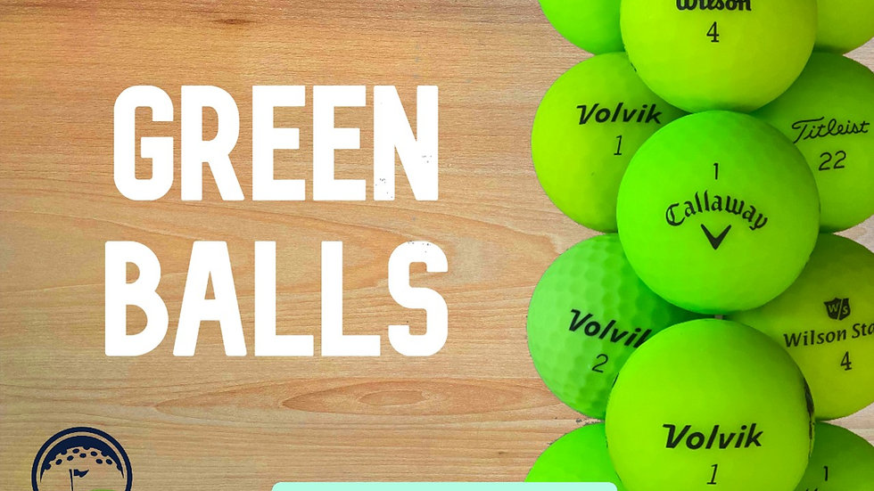 Green Mix Balls