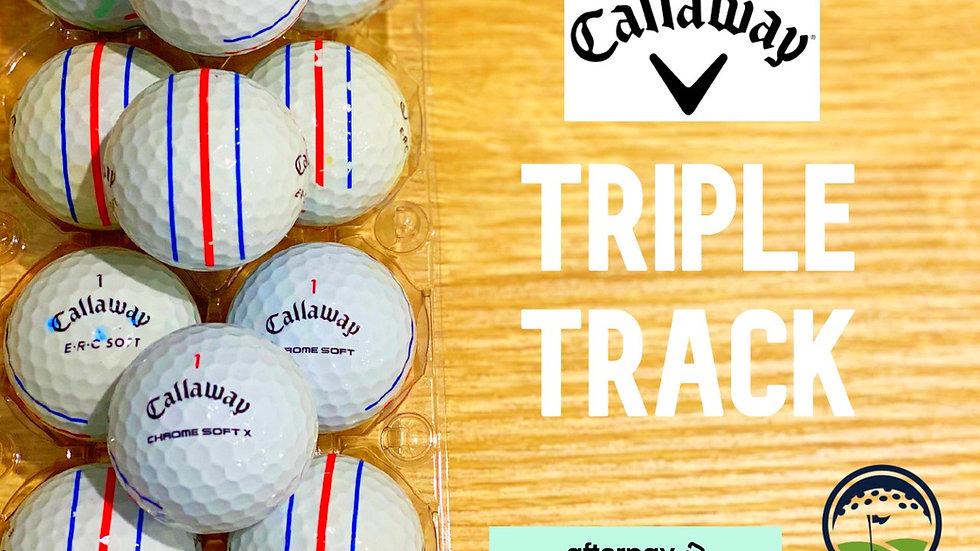 used triple track callaway discount golf balls