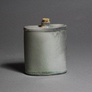 Soda Fired Flask