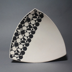 Triangle Dinner Plate