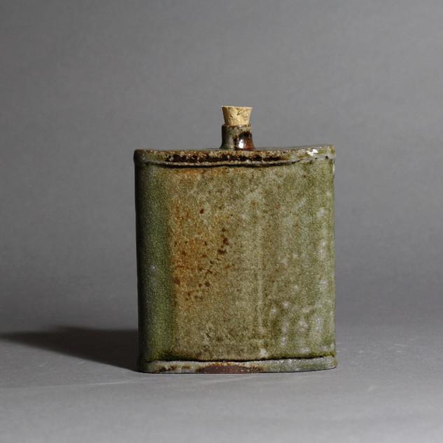 Soda Fired Flask