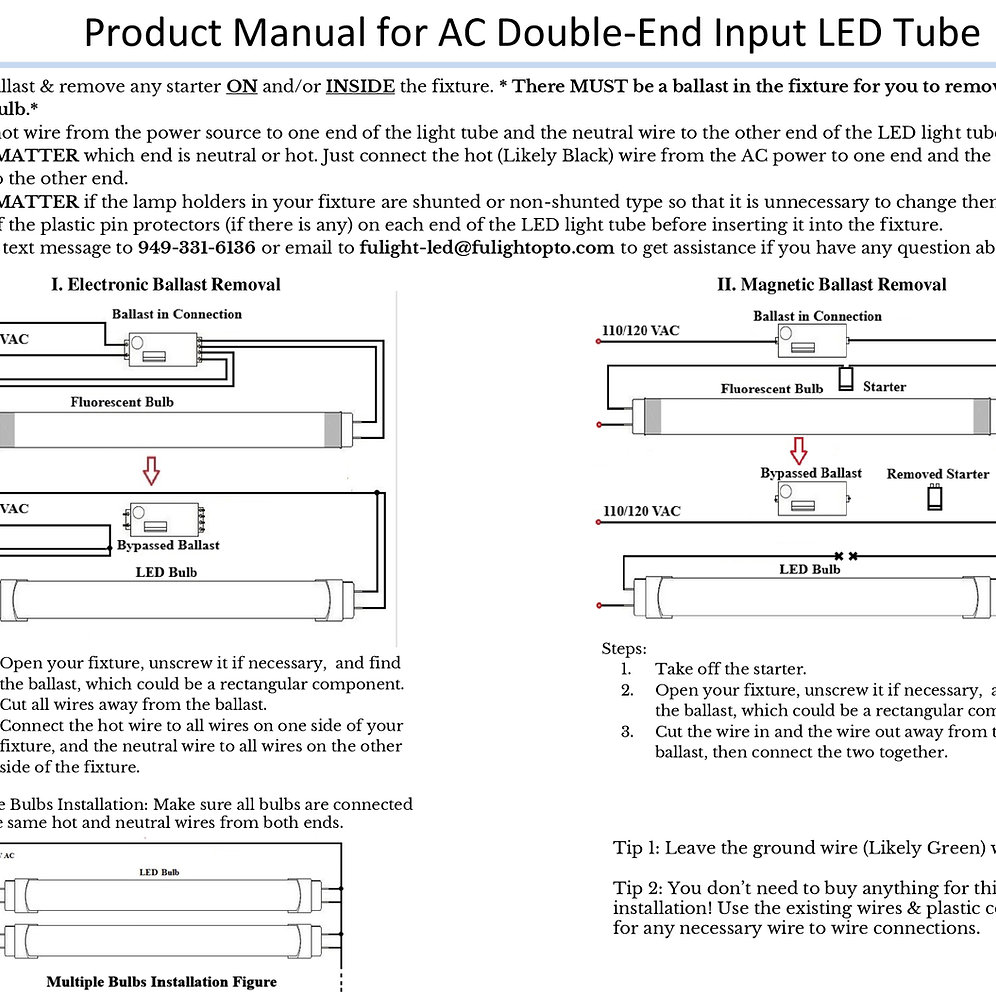 Ballast Wiring Diagram Further T8 Led Tube Light Wiring Diagram On T8