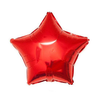 Red Star Balloon