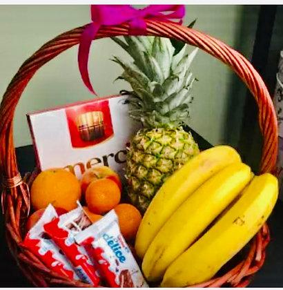 Fruits and Chocolates Basket