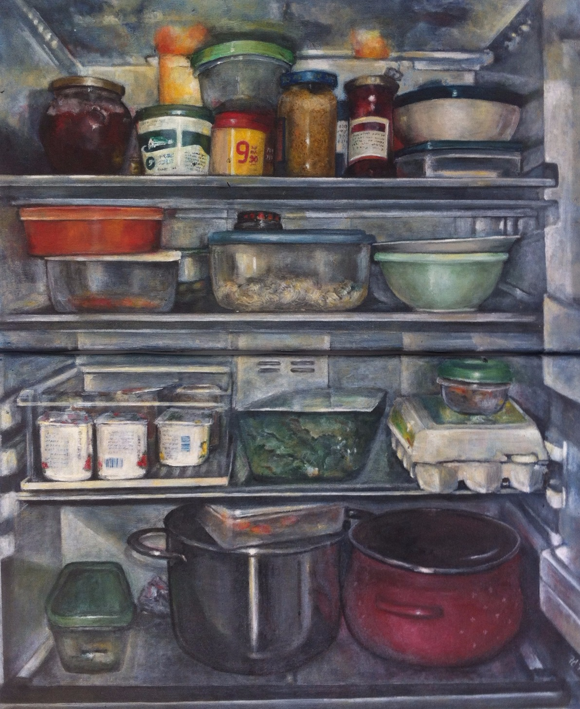 oil on canvas, 2006, 60x50