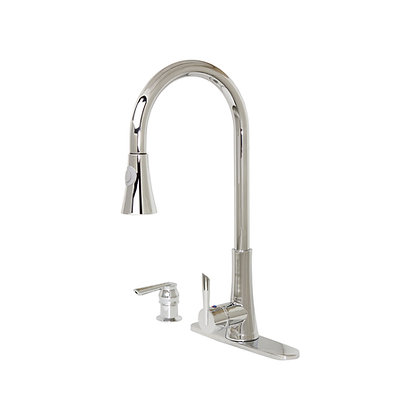 Celtic and Mediterranean Pull Down Faucet